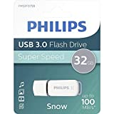 Philips SNOW Super Speed 32 GB USB Flash Drivee 3.0, Leer hasta 100 MB/s